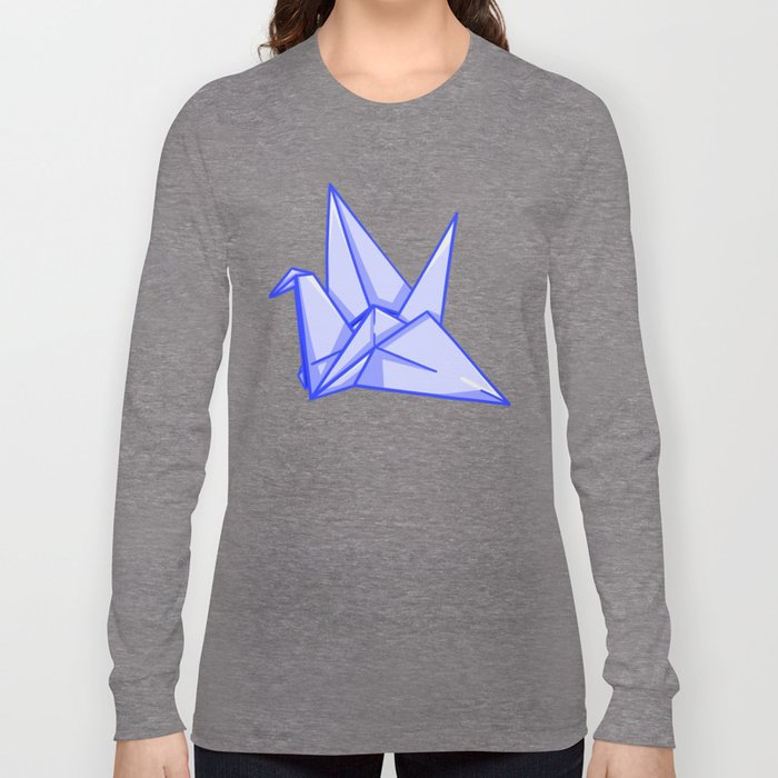 Origami Crane Long Sleeve T-shirt