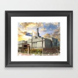 Montevideo Uruguay LDS Temple Framed Art Print