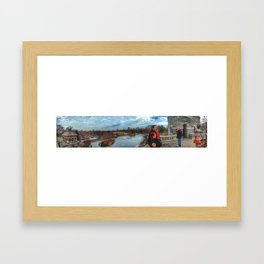 Belvedere Panorama Framed Art Print