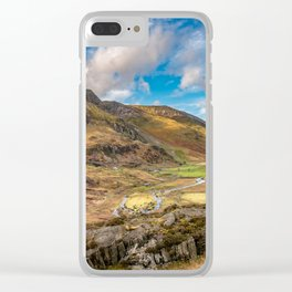 Nant Ffrancon Valley Wales Clear iPhone Case