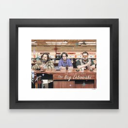 The Big Lebowski Framed Art Print
