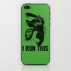 Link Boss Black Version iPhone & iPod Skin