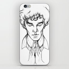 Sherlock iPhone Skin