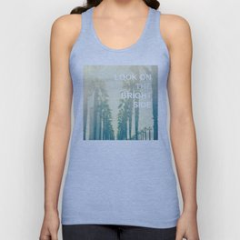 Look on the Bright Side Unisex Tank Top
