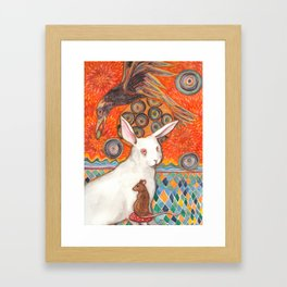 Mosaic Melody Framed Art Print