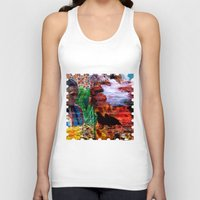 southwest Tank Tops featuring Southwest by ArtbyJudi