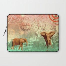 Elephants in the Ballroom Laptop Sleeve