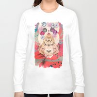 psychedelic Long Sleeve T-shirts featuring Psychedelic by Pepe Psyche