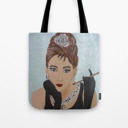 Breakfast in Tiffany homage Tote Bag