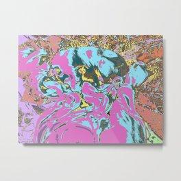 Snoogle Bear Metal Print