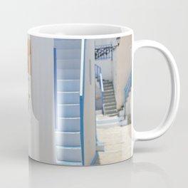Blue Door - Milos - Landscape and Rural Art Photography Coffee Mug