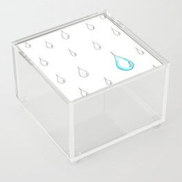 Emphasis by Contrast Acrylic Box