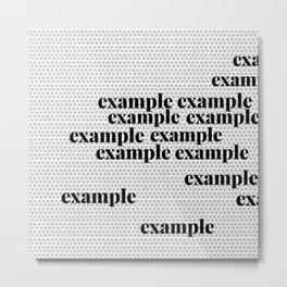 Example Metal Print