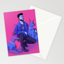 The Weeknd - Abel with Julius + Caesar Stationery Cards