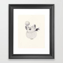 mog Framed Art Print
