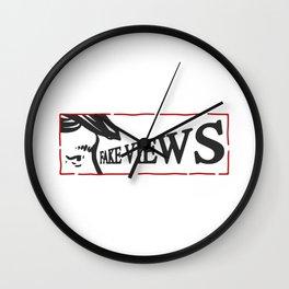 fake views Wall Clock
