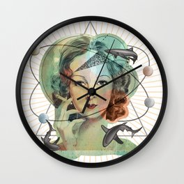 Ms Magritte's Brain Wall Clock