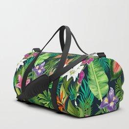 Tropical Lush Sanctuary, A Bohemian Paradise Duffle Bag