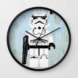 Star.Wars Stormtrooper Lego.styled mini figure Wall Clock