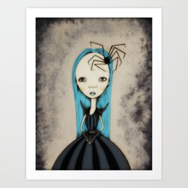 Ms Anna Rachnid Art Print