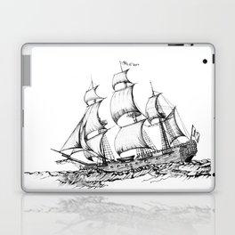 sailing ship . Home decor Graphicdesign Laptop & iPad Skin