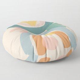 just before summer Floor Pillow