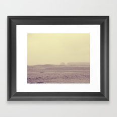 Off In The Distance Framed Art Print