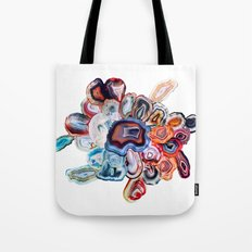 Earth's Loveliness, Agate Collection Tote Bag