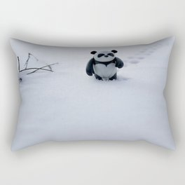 Zeke the Zen Panda Rectangular Pillow