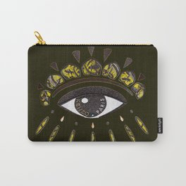 Kenzo eye yellow Carry-All Pouch