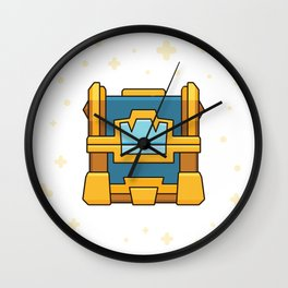Crown Chest / Clash of Clans Wall Clock