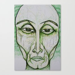 Visage 9  Canvas Print