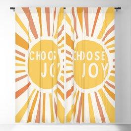 Choose Joy Blackout Curtain