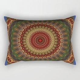 Fractal kaleidoscope, mandala Rectangular Pillow