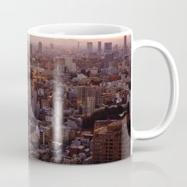 The View of Mt Fuji from the Top of Tokyo Tower Coffee Mug