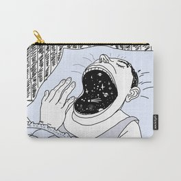 man and the cosmos . artwork Carry-All Pouch
