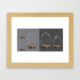 Glass ball jar - High resolution PSD Files for Manipulators Framed Art Print