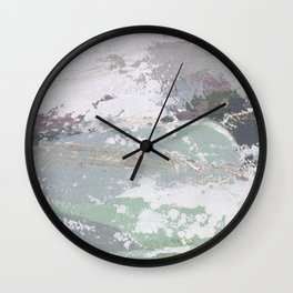 After Winter Wall Clock