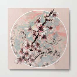 Blossom day Metal Print
