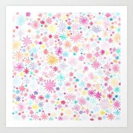 big bloom Art Print