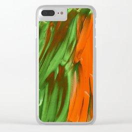 Walk through the Rainforest Clear iPhone Case