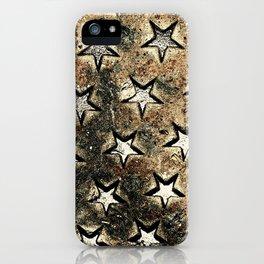 Serie Texturas - CleMpasS - Estrellas iPhone Case