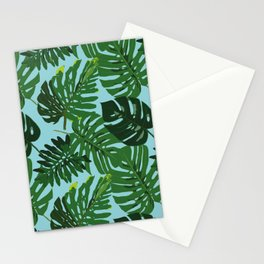 Monster Leaves Stationery Cards