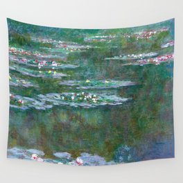 Water Lilies Claude Monet 1904 Wall Tapestry