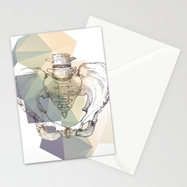 Pelvic Bone Stationery Cards