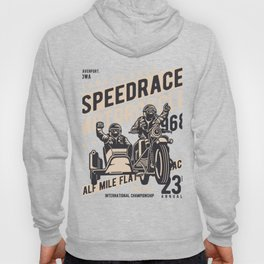 Born To Race Speedrace Motorcycle Hoody