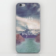 Into the Mystic (ANALOG zine) iPhone & iPod Skin