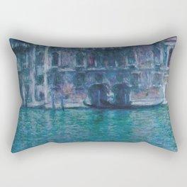 "Claude Monet ""Le palais da Mula"" Rectangular Pillow"