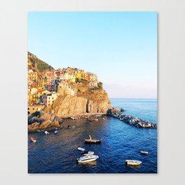 Cinque Terre dusk Canvas Print