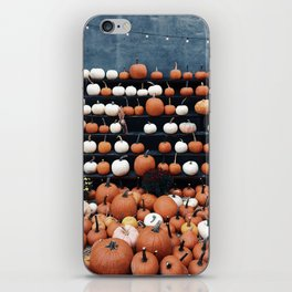 Pumpkins Everywhere iPhone Skin
